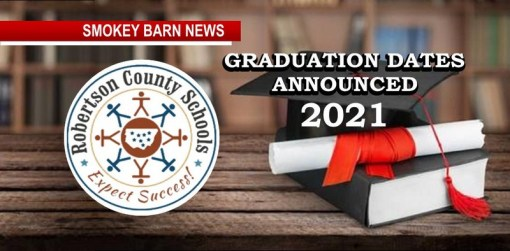 Graduation Dates Announced For Robertson County Schools