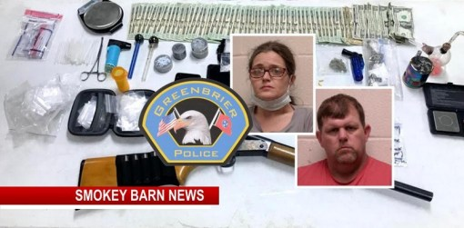 Search Warrant Leads Police To Drugs And Cash At Greenbrier Home