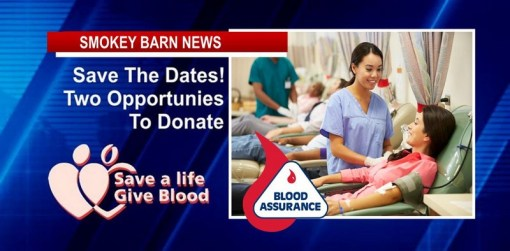 Blood Donations Needed, Two Opportunities To Donate