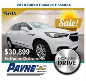 Payne 2018 Buick Enclave 2971A
