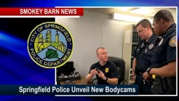 Springfield Police Add Bodycams To Its Crime-Fighting Arsenal