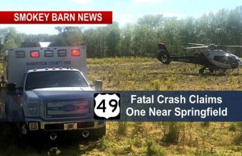 Hwy 49 Crash Claims One Life Near Springfield