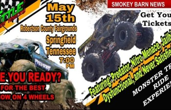 Full Throttle Monster Trucks Coming To Robertson County