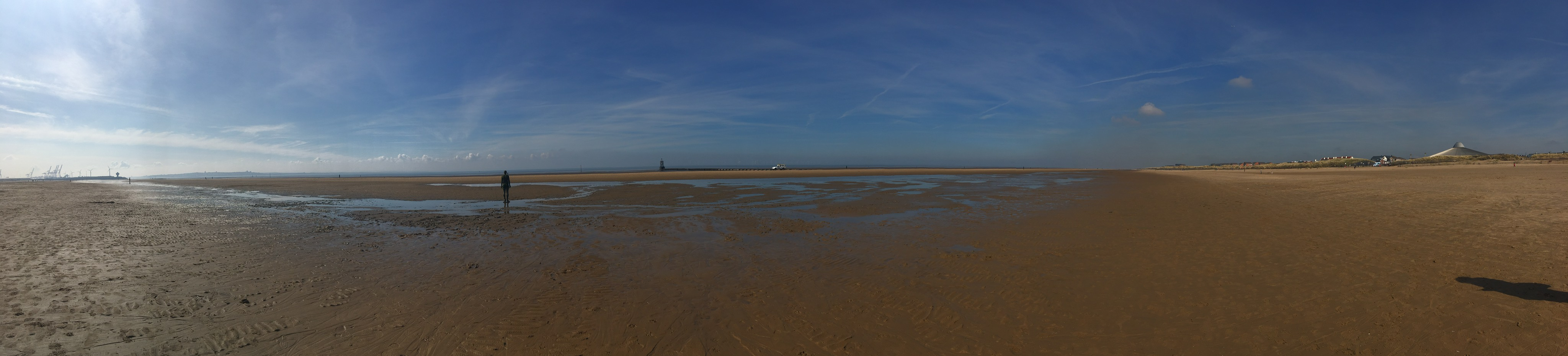 Crosby Beach - Another Place by Antony Gormley