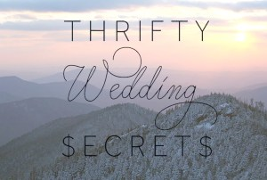 SMOKY MOUNTAIN THRIFTY WEDDING