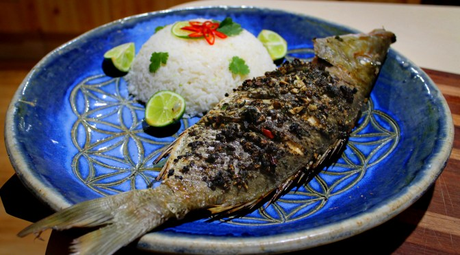 "In ""Thai'm"" for Good Friday: Thai Reef Fish with Coconut Ginger Rice"