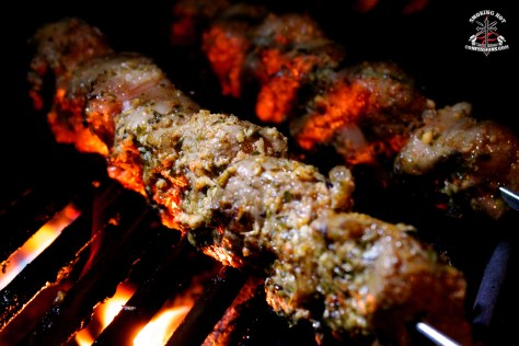 Greek BBQ Lamb Souvlaki Recipe 6
