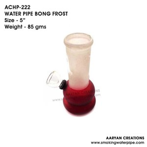 ACHP-222 WATER PIPE BONG FROST