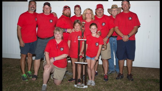 Rescue Smokers team with trophy