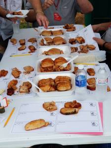 Pork Loin Entries to judge