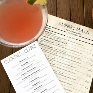Cocktail at Clarks On Main Clayton, GEorgia