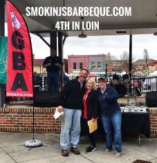 BBQ & Brews Cartersville Smokin J's Barbeque Results