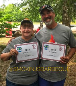 Three Rivers Festival in Hazelhurst Smokin J's Barbeque Results