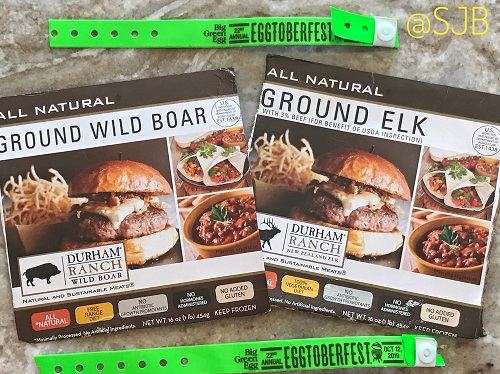Durham Ranch Meat Boxes with Eggtoberfest 2019 Green braclets