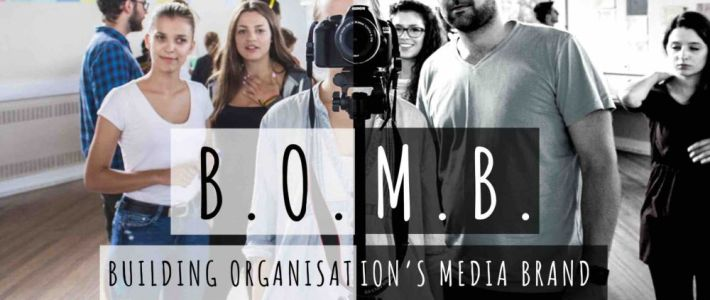 B.O.M.B.: Building Organisation's Media Brand – Training course in UK