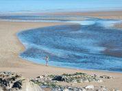 Widok z jednej z ławek w Ogmore by Sea, południowa Walia. Autor: Smok Walijski