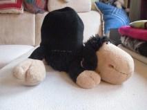 Claudias Mütze mit Filou