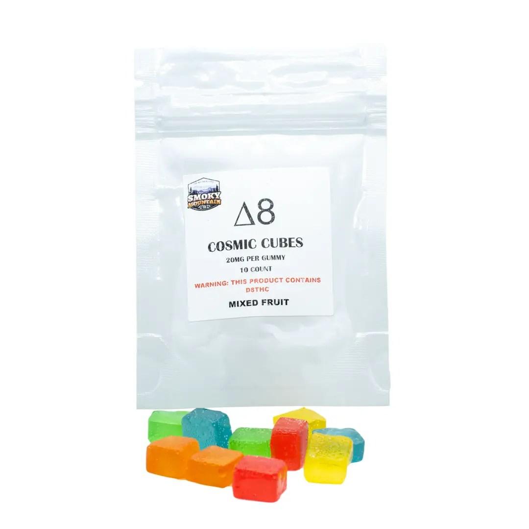 Cosmic Cubes Delta 8 Gummies