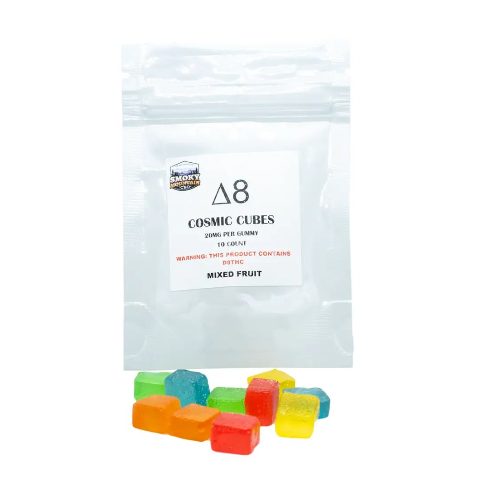 Cosmic Cubes - Delta 8 Gummy