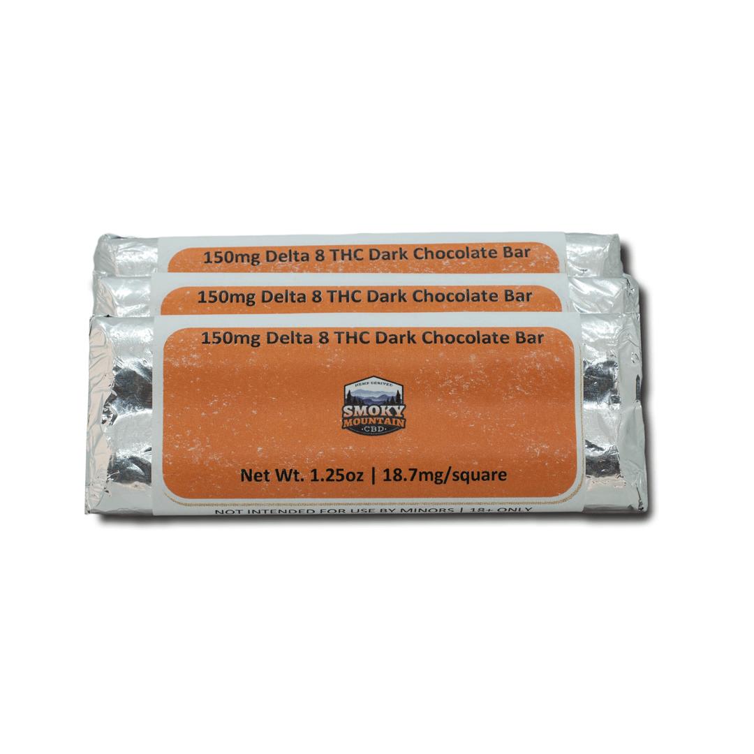 Delta 8 Chocolate - 150mg D8-THC/bar