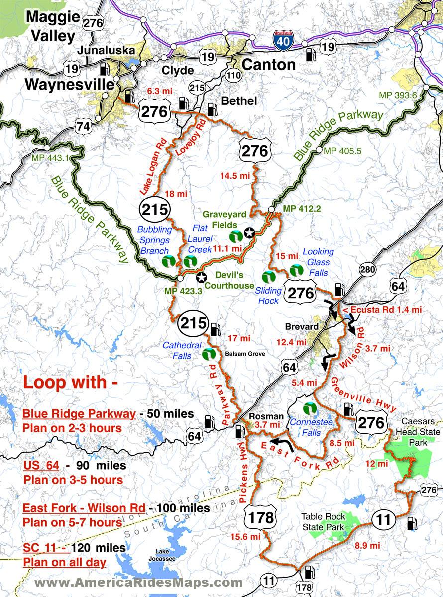 Trek to the summit of mt. Smoky Mountain Motorcycle Rider Great Motorcycle Rides In North Carolina Pisgah Triangles