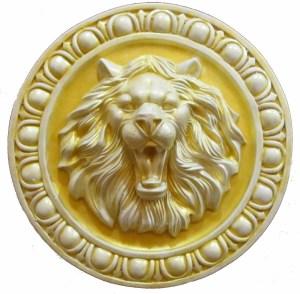 панно Лев с152