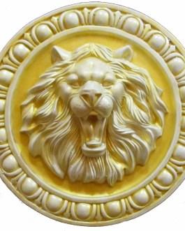 «Лев» изделие из гипса