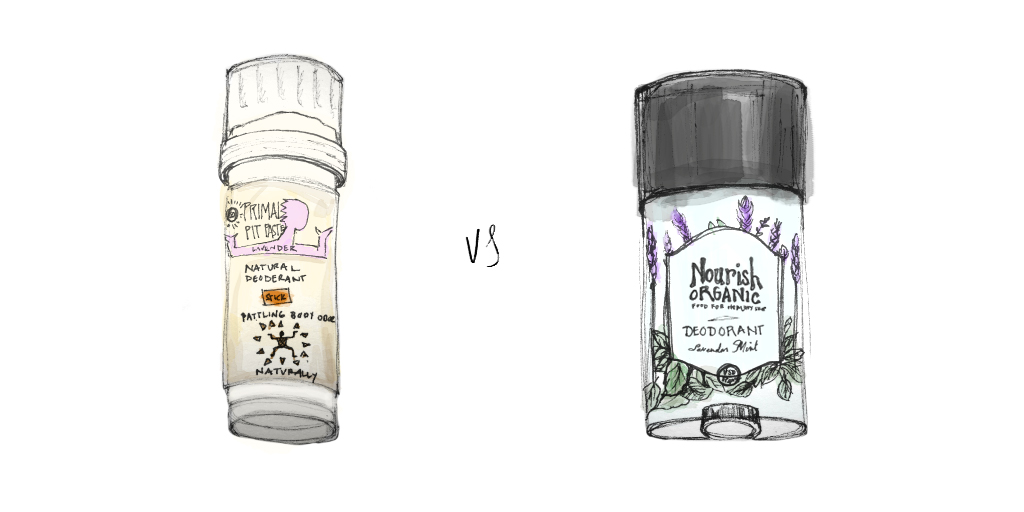 Primal Pit Paste vs. Nourish Organic