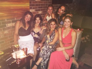 Hanging at Vesper for the beautiful bride's bachelorette!