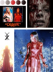 A Color Palette inspired by Carrie