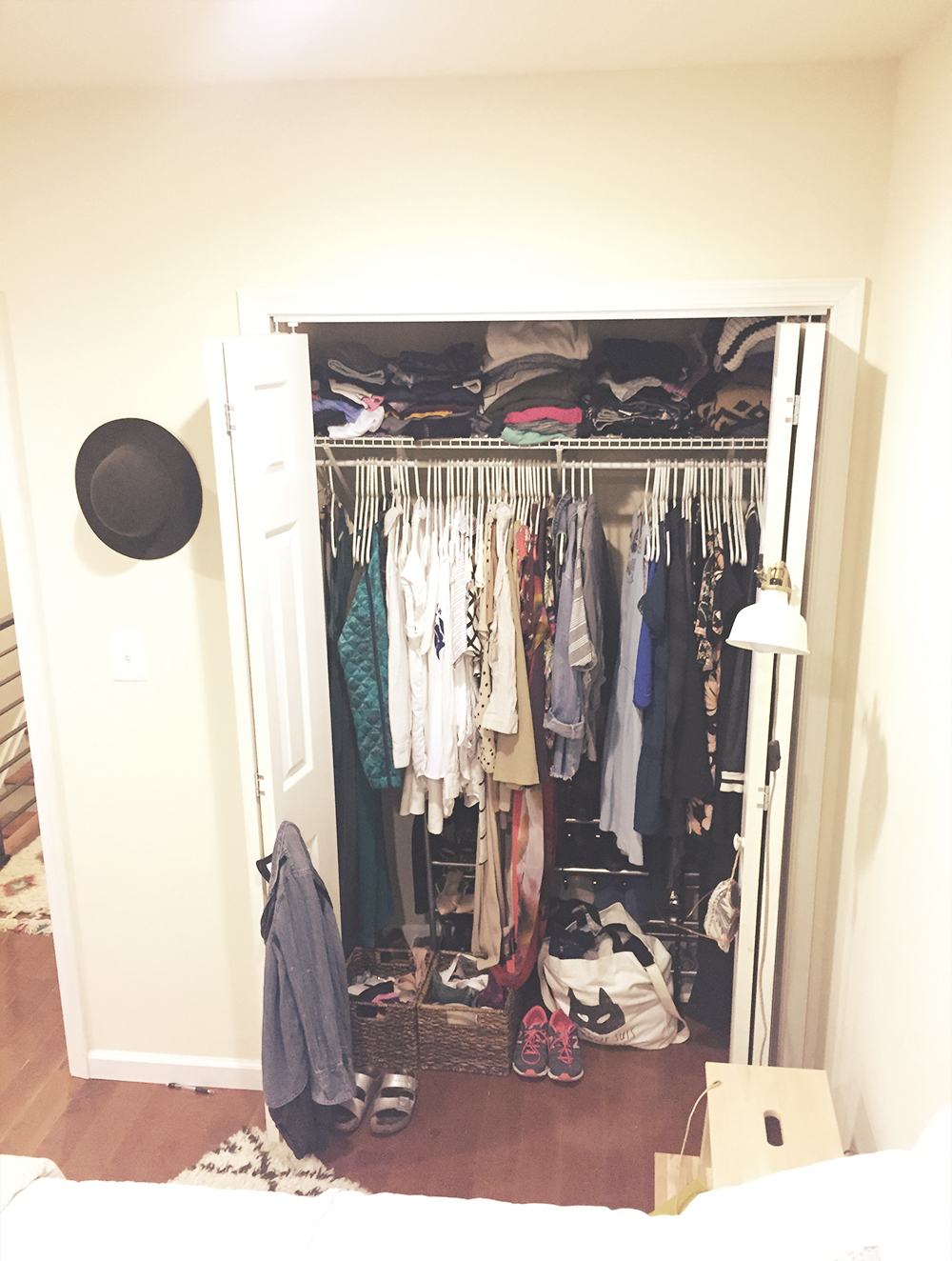 Phase One Closet Full