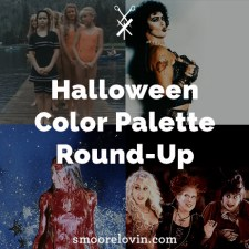 Halloween Color Palette Round-Up