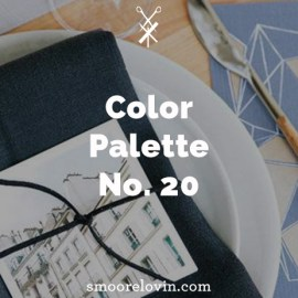 Color Palette No. 20   Holiday Table Decoration Inspiration