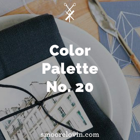 Color Palette No. 20 | Holiday Table Decoration Inspiration