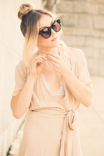 Getting Glam | My Favorite Wrap Dress for Feeling Like Old Hollywood