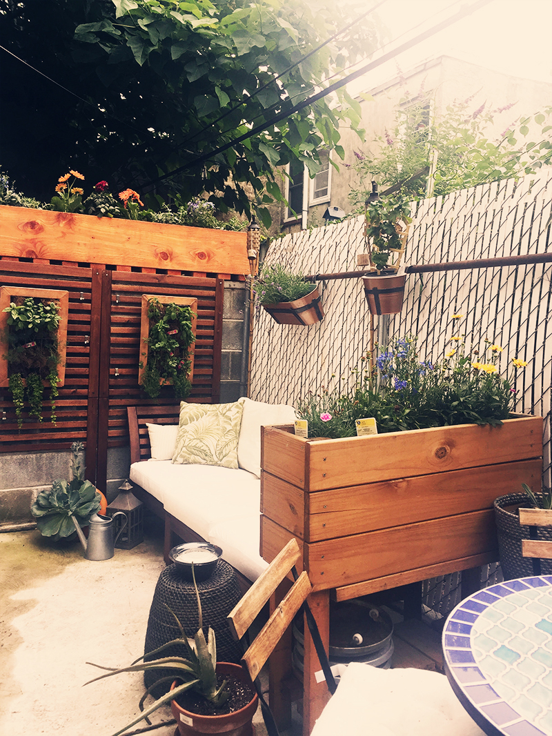 My Tiny Secret Garden | Small Space Solutions For An Outdoor Retreat