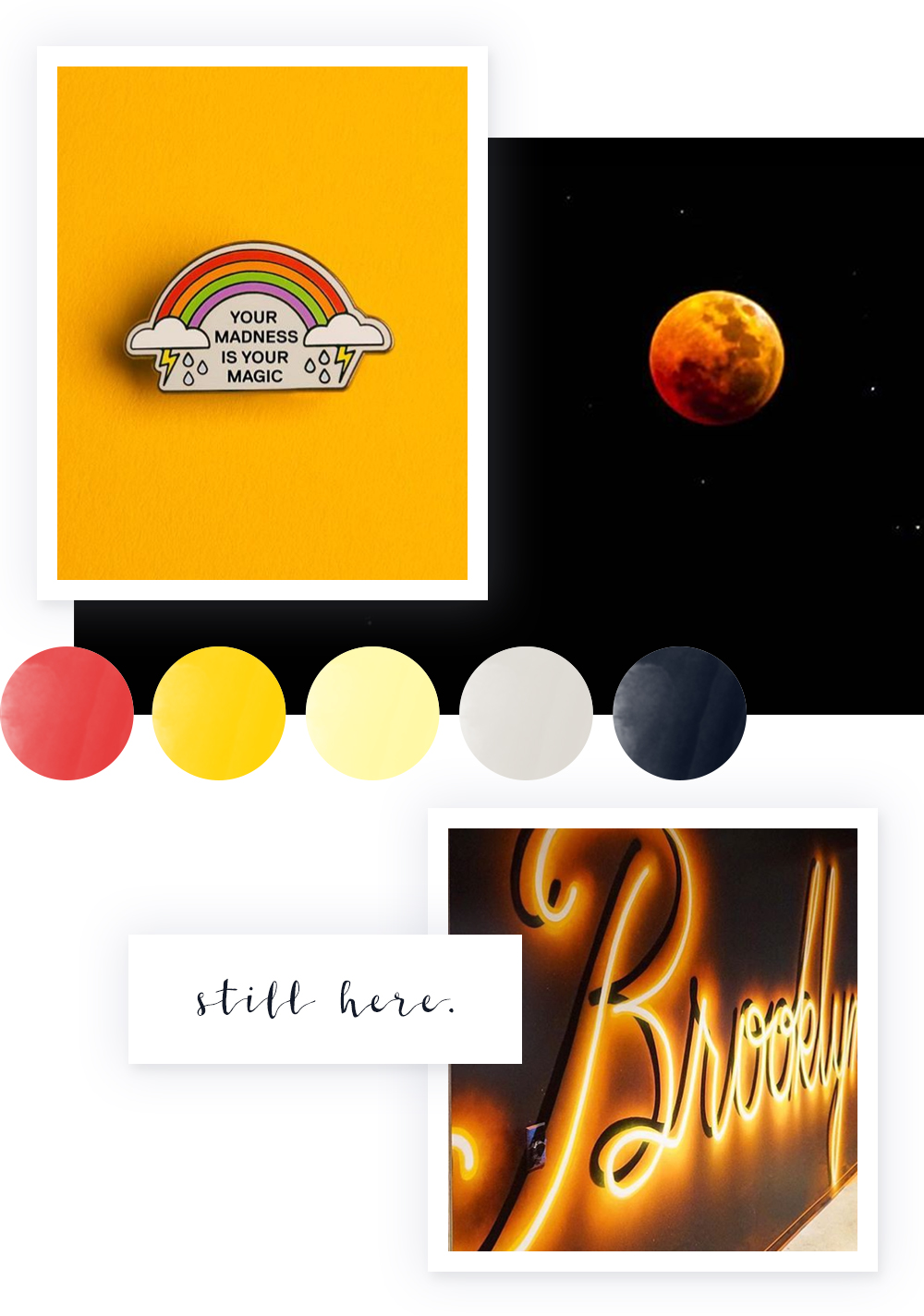 Color Palette No. 25 | Lunar Eclipse