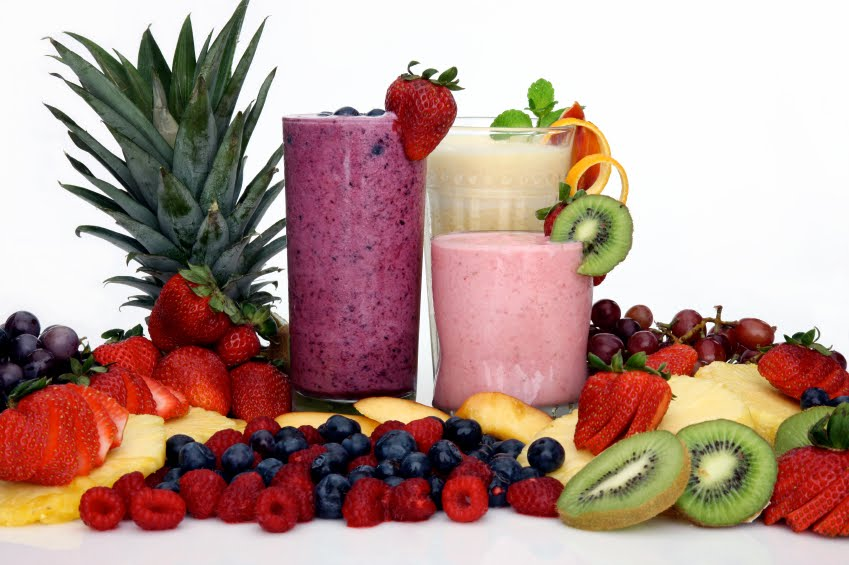 Smoothie Rood fruit Zoet