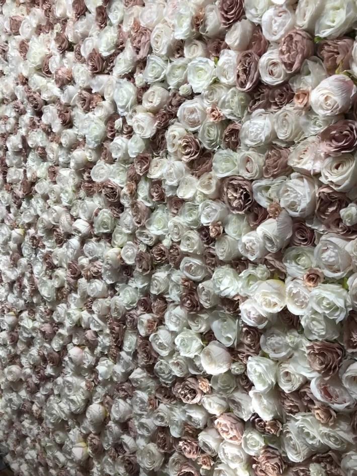 Lush Blush Flower Wall