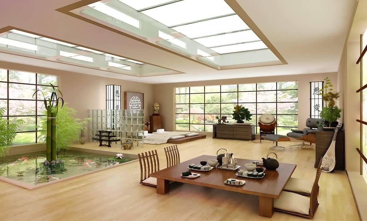 Japanese Style Living Room Design Novocom Top