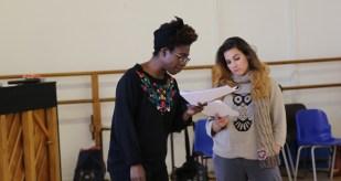 Viv and Fran in Titus