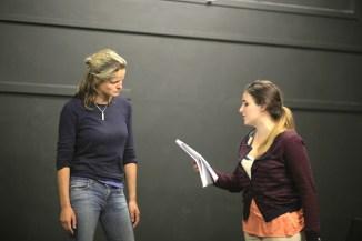 Henri Merriam and Francesca Binefa in Titus Andronicus