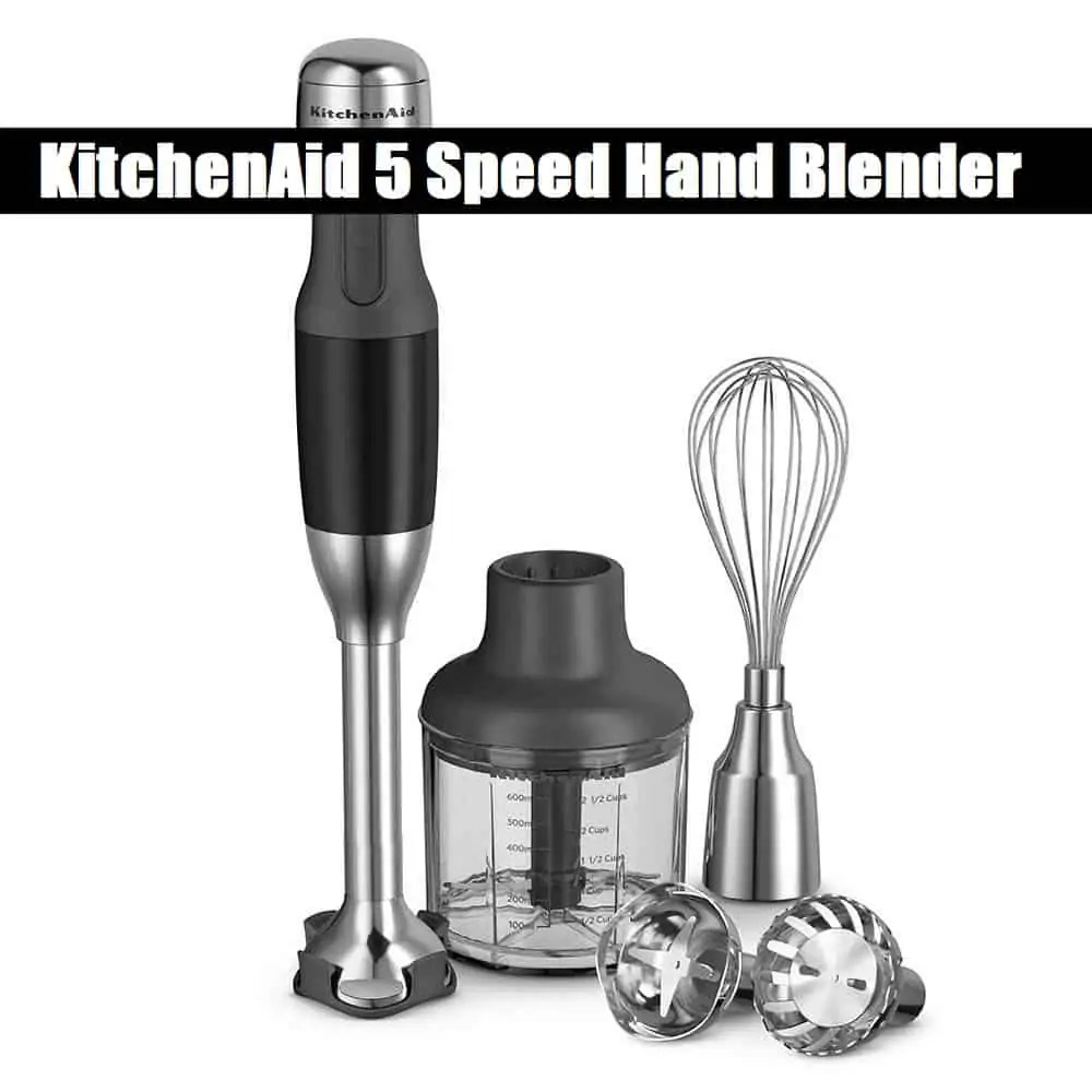 KitchenAid 5 Speed Hand Blender Review (2019)
