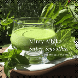 Minty Aibika Green Super Smoothie