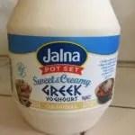 spinach smoothie jalna vanilla yoghurt