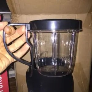Small jug with handle - Optimum Nutriforce Extractor | SmoothieSailor.com.au