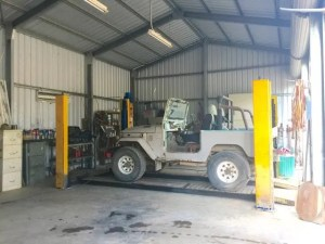 machinery shed with hoist | Property for Sale