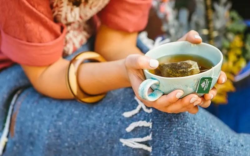 tulsi-tea-drinking