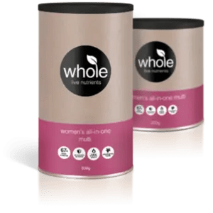 Whole Live Nutrients Women's All-in-One Multi Vanilla Passionfruit 500g