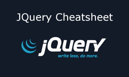 jQuery Cheatsheet